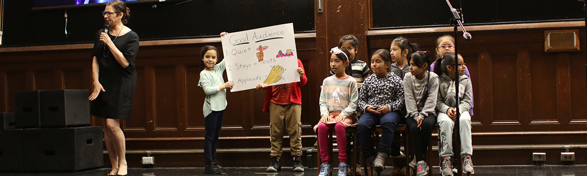 Grade Assembly's 2nd Graders Improv