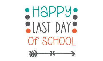 Last day of school for all students.