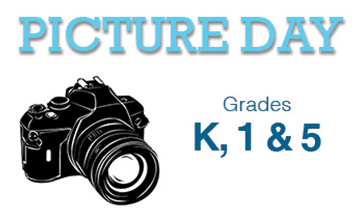 Picture day: Grade K, 1 & 5
