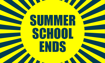 Summer school ends