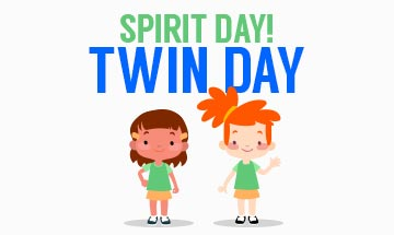 Spirit Day: Twin day
