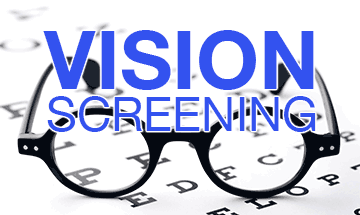 K-1 Vision  screening for the week